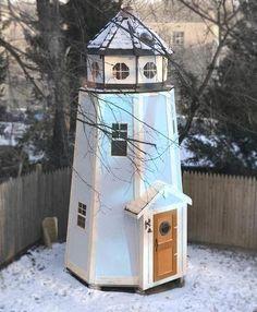 3 level lighthouse playhouse plan for kids. Kids Playhouse Plans, Kids Indoor Playhouse, Girls Playhouse, Playhouse Kits, Backyard Playhouse, Build A Playhouse, Simple Playhouse, Outdoor Playhouses, Small Backyard Landscaping