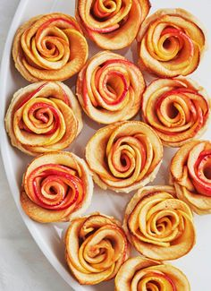 If you have been on Pinterest for any amount of time, you may have come across the trendy apple rose design seen on cupcakes, pies, tarts, and more. It's not hard to see the appeal of it, but I wanted to know: Is it really all that easy to do?