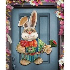 18 Best Wooden Easter Bunny - Easter Decor Wooden Easter Bunny - Easter Decor What's the reality of God vs. the reality of Santa Claus, the Tooth Fairy and the Easter Bunny? Its child's' play r. Family Wall Decor, Fish Wall Decor, Tree Wall Decor, Medallion Wall Decor, Tooth Fairy, Xmas Cards, Easter Bunny, Nursery Decor, Holiday Decor