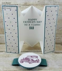 Today's Creative Fold Video was inspired by Leigh Amburgey from Mentor. Leigh took part in a TEAM Challenge I put out for members of my Stamp Family. Leigh was first place winner with this card, called a Diamond Fold Card,...