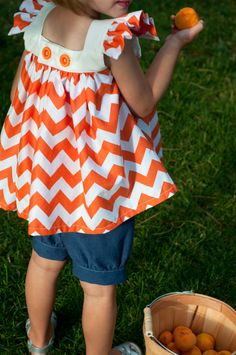Girls' Pattern: Summer Set Bloomers/Capris and Top/Dress to Sew (PDF, e-pattern)
