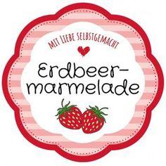 Free Template Label Floral Shape Strawberry Jam Homemade by simone_nitzsche Jam Wedding Favors, Wedding Tags, Printable Labels, Printable Cards, Printables, Free Printable, Mason Jar Tags, Jam Label, Homemade Christmas Decorations