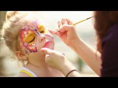 How to do Face Painting Tutorial  Fantasy Butterfly face painting