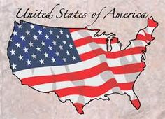 Stars and Stripes-USA map