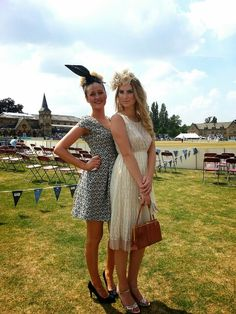 Models from our show at Cheltenham Cricket Festival (styled by me)