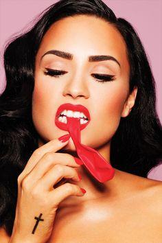 Demi Lovato celebrates the pop music lifestyle on the Oct / Nov cover of COMPLEX.