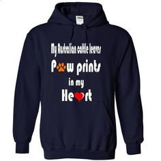 Limited Edition My Australian cattle leaves Paw prints - design your own shirt #hoodie #tshirt