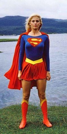 Cinema ©: Helen Slater as Supergirl. Helen Slater Supergirl, Supergirl Movie, Supergirl Superman, Batman, Superman Art, Captain Marvel, Marvel Dc, Comic Costume, Comic Movies