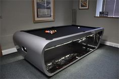 Toulet Blacklight Pool Table - 8ft