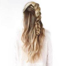 ❤️ #braid #hair #highlights #dipdye #fashion #inspiration #girly #stile #look #beauty #stunning #quote #love #frenchbraid #fishtail #dutchbraid #vogue #glamour