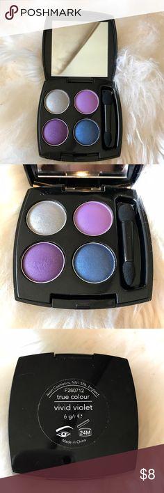 Avon true color eyeshadow palette in vivid violet Avon true color eyeshadow palette in vivid violet Avon Makeup Eyeshadow