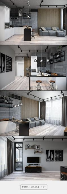 Interior design Cozy Small Apartments, 15 Perfect and Cozy Small Living Room Design Interior Small Living Room Design, Small Living Rooms, Living Room Designs, Modern Living, Living Spaces, Modern Couch, Minimalist Living, Cozy Living, Luxury Living