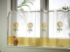 The Benefits of Sunflower Kitchen Curtains — Nighthawk House Decor Curtains Yellow And White, White Kitchen Curtains, Kitchen Curtains And Valances, Corner Curtains, Cafe Curtains, Door Curtains, Sunflower Cafe, Sunflower Kitchen Decor, Bathroom Curtain Set