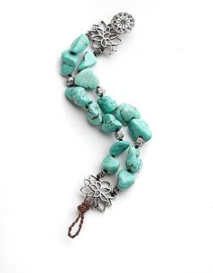 Turquoise Beaded Bracelet by Lucky Brand! #lordandtaylor