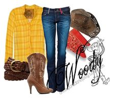 """Woody"" by disneyoutfits ❤ liked on Polyvore featuring PRPS"