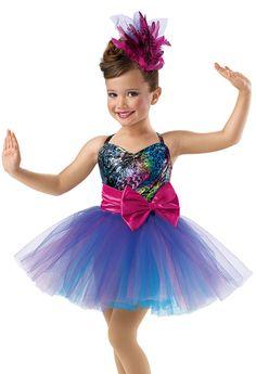 Girls' Camisole Recital Dress; Weissman Costumes  PRE BALLET THURSDAY 515 (TAP)  SONG: LITTLE MISS BROADWAY