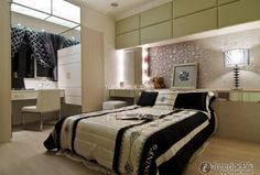 Effect picture of simple European fashion bedroom 2015