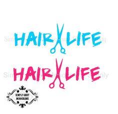 Amazoncom SHEARS WITH WINGS Hair Stylist Hairdresser Salon - Hair stylist custom vinyl decals for car