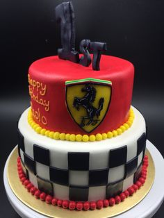 Ferrari cake