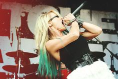 Photo by Kasey Jean Rajotte - Butcher Babies - Heidi