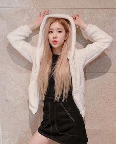 Blackpink Rose New Popular Wallpaper Kim Jennie, South Korean Girls, Korean Girl Groups, Foto Rose, Rose Bonbon, Rose Icon, Rose Park, Black Pink Kpop, Black Pink Rose