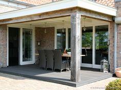 Overdekt terras landelijke woning © Building Design Architectuur