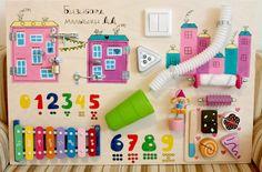 Бизиборд для мальчиков и девочек, развивающие доски для детей