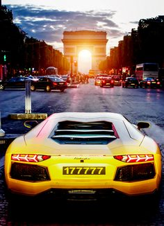 Lamborghini Aventador - Paris Cruise.... Would make an awesome MOUSE CAR! Just needs ears and a tail...
