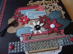 Album Souvenirs....Projet Scrapotin 2015