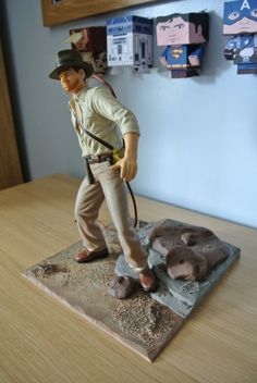 inch Custom Diorama Base for a inch Action Figure. Custom Action Figures, Dioramas