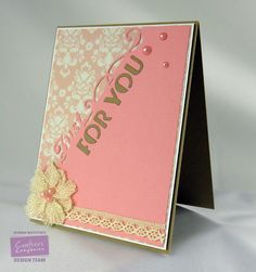 By: Kendra Wietstock for Crafter's Companion.  Edge'ables - Just for You.  @crafterscompUS