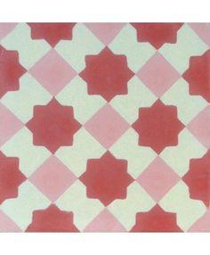 Marrakech Red Encaustic Cement Tile