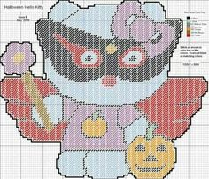HALLOWEEN HELLO KITTY by NORA BRYANT (NB PcDesigns)
