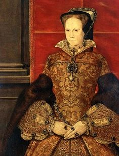 Queen Mary Tudor, Queen Mary Of England, Mary Queen Of Scots, King And Queen Images, Tudor Facts, Margaret Tudor, Young Queen Elizabeth, Gold Sovereign, Pilgrim
