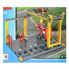 Lego city cargo #train station #crane with 2 #track 60052 cargo #train - no box,  View more on the LINK: 	http://www.zeppy.io/product/gb/2/301321148435/