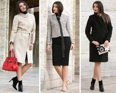 Fall for these jackets YOKKO  fall16 Smart Coat, Look Chic, Cold Day, Quilted Jacket, Wool Coat, Cold Weather, Cover Up, Costume, Coats