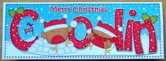 Card Gallery - Large DL Christmas COLIN Robins 3D decoupage