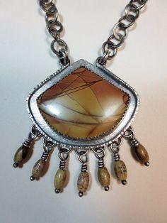 El Dorado  Cherry Creek Jasper and Sterling by wildorchidjewelry