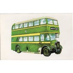 GMT Postcard Typical Salford City Transport Double Decker Bus of the 1950's Listing in the Bus/Tram,Road,Transportation,Postcards,Collectables Category on eBid United Kingdom | 167546745