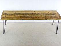 Esstisch, Reclaimed Holz Esstisch, Altholz Tisch