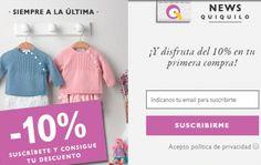 Regístrate en Quiquilo y disfruta de 10% de descuento