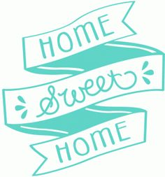 Silhouette Design Store - Free Design of the Week #80864: home sweet home