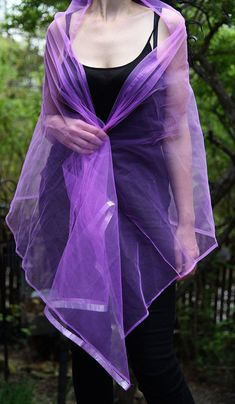 Items similar to Vintage Dark Pink With Silver Accent Wrap Evening Wear on Etsy Shawls, Magic, Dark, Purple, Silver, How To Wear, Vintage, Fashion, Moda