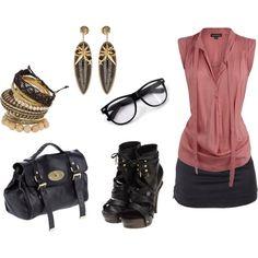 polyvore nerd | Nerd Glasses - Polyvore | My Style