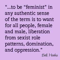 To be Feminist bell hooks