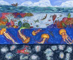 Ocean Adventure Size Options  Fox Animals  Ocean  by FOXnCROW