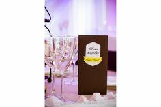 Menu weselne - poligrafia ślubna http://www.honeydew.pl / wedding menu