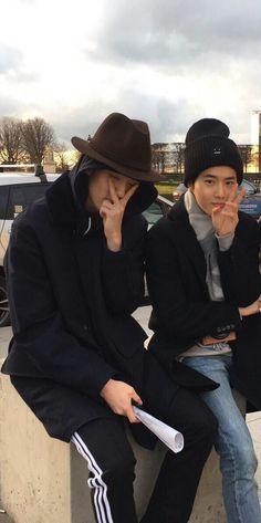 Kim Junmyeon - Suho and Oh Sehun Baekhyun, Kaisoo, Chanbaek, Saranghae, Do Kyung Soo, Shinee, Sehun Cute, Exo Official, Wattpad