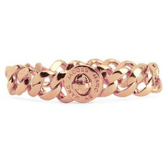 Marc Jacobs Rosegold Turnlock Bracelet. Starting to love rosegold.