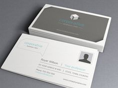 Corporate Business Card Vol 2 (Freebie)  by Pixeden